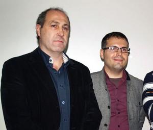 Alfonso Redondo, junto a Carlos Delgado Uleg