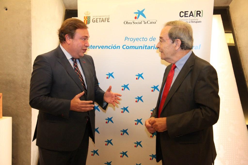 Convenio de colaboración con la Fundación Obra Social La Caixa (2013) para el Plan de Convivencia en Las Margaritas