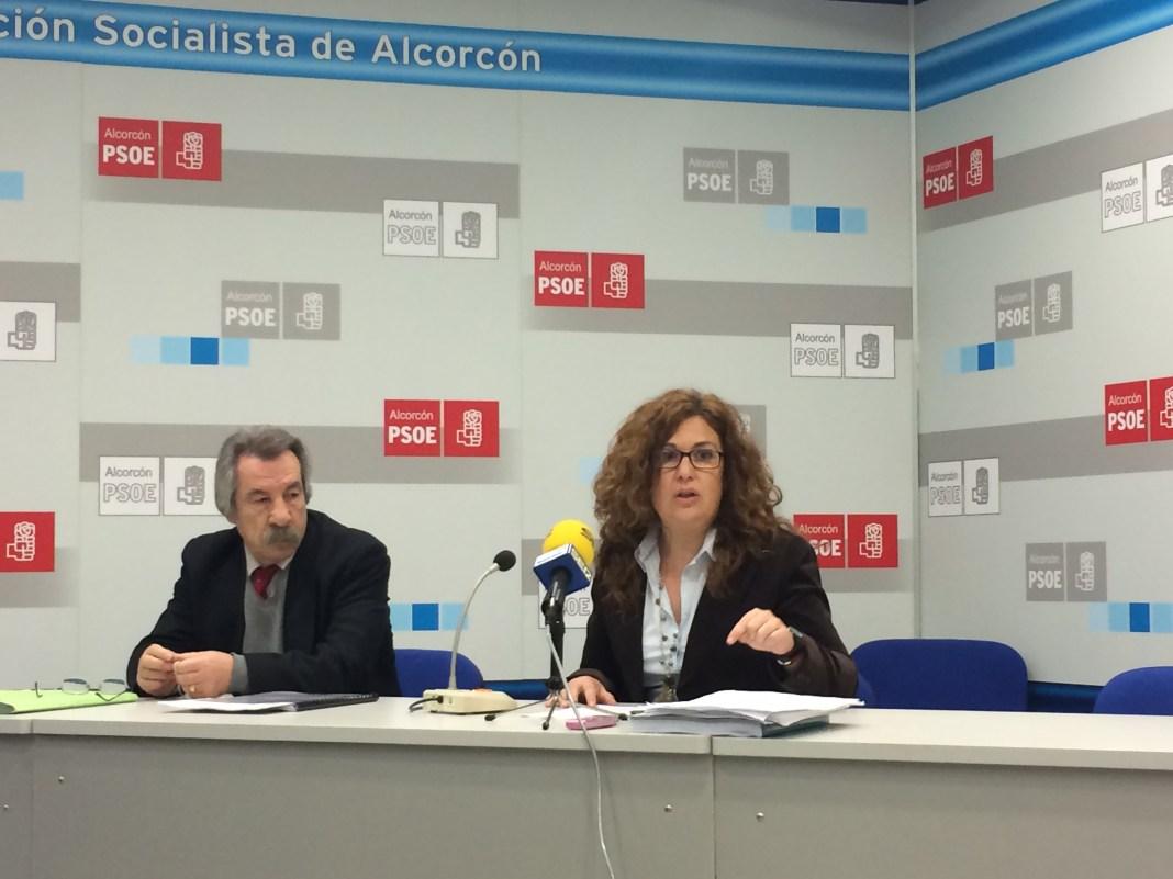 Natalia de Andrés, portavoz del PSOE de Alcorcón