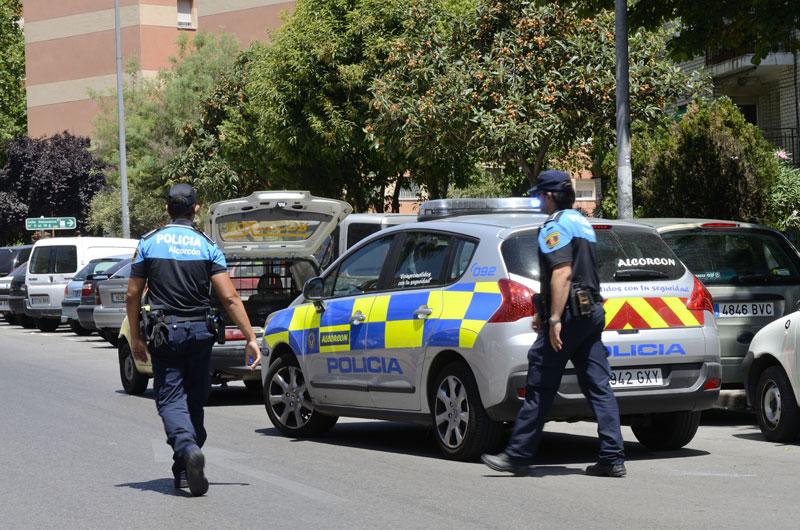 policía local alcorcón