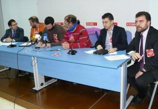 Rueda de Prensa de la Oposición en el Ayuntamiento de Leganés. Caso Coca Cola y Legatec