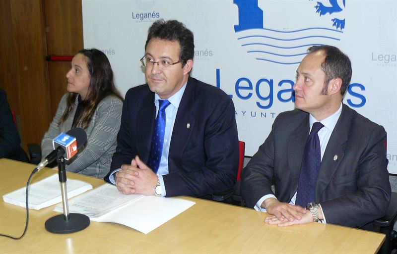 Jesús Gómez, alcalde de Leganés