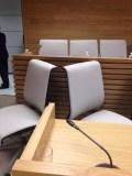 Vacías las sillas del Pleno de Getafe de los cinco concejales que han dimitido por el 'Caso Aparcamientos'