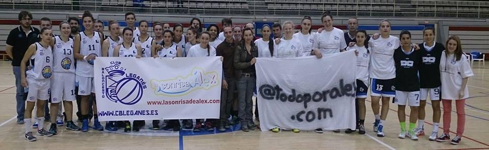 Baloncesto Leganés, La sonrisa de Álex