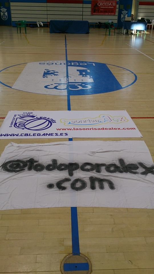 Baloncesto EM Leganés, La Sonrisa de Álex