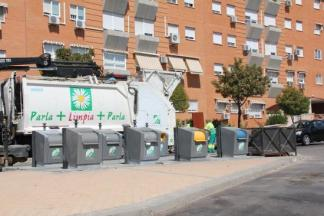 Servicio de recogida de basura de Parla