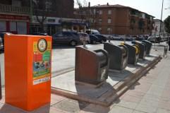 Contenedores naranja para el reciclado del aceite doméstico usado