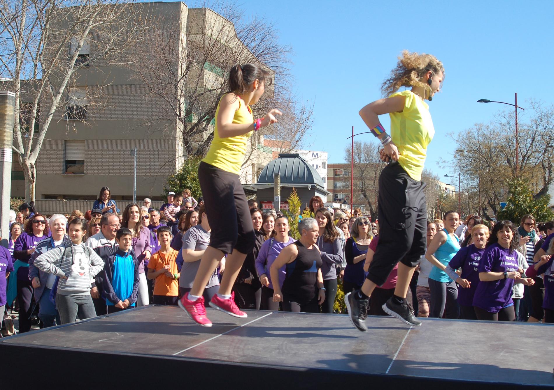 Actividades deportivas complementarias a la I Marcha por la Igualdad
