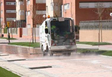 Servicio de limpieza viaria de Parla