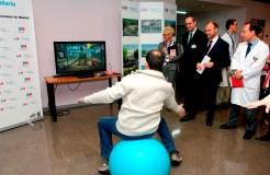 El Hospital de Getafe utiliza videojuegos en las terapias de la Unidad de Quemados