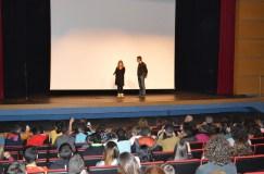 presentación cursos de cine con Nathalie Seseña