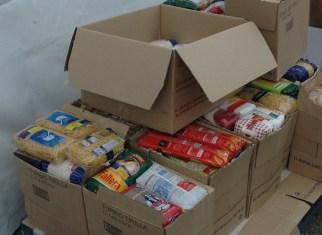 recogida solidaria de alimentos, feria de gastr