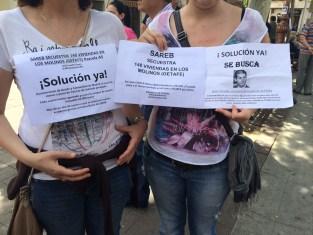 Protesta de la Plataforma de Afectados A5 Los Molinos, Getafe