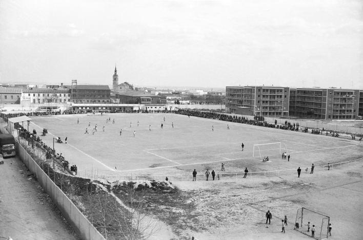 Antiguo campo del Leganés en los años 80
