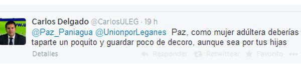 Carlos Delgado, portavoz de ULEG de Leganés