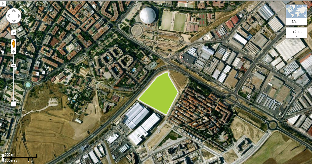 megacentro deportivo en Leganés
