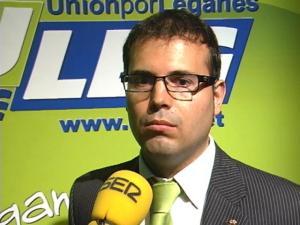 Carlos Delgado, concejal y portavoz de ULEG