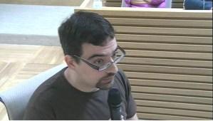 Presidente Asociación de Vecinos Nuevo Amanecer, Diego Mendez