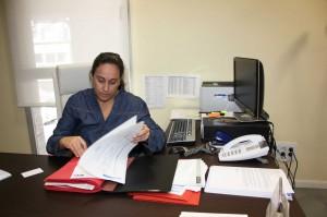 Beatiz Tejero, alcaldesa en funciones