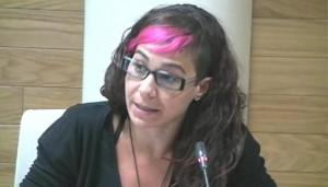 Vanessa Lillo, concejal de IU en el Ayuntamiento de Getafe