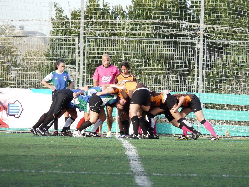 Equipo femenino de Getafe Rugby