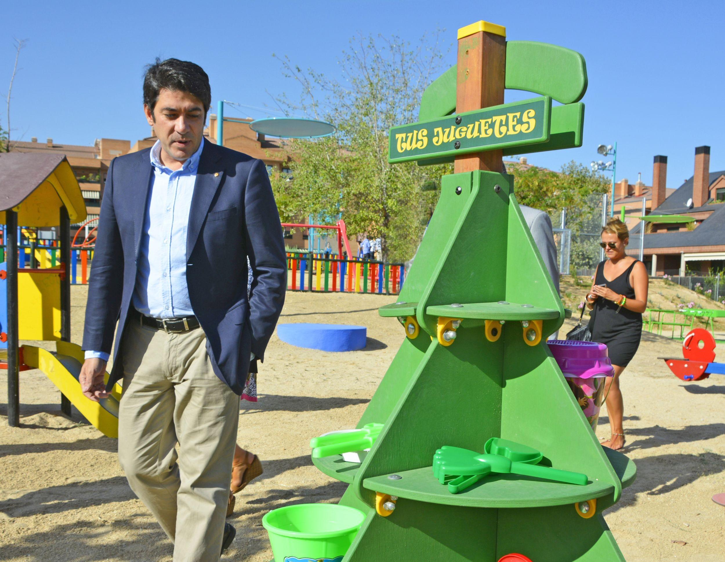 Para De Los Alcorcón Infantiles Compartir En Nuevos Parques Espacios IW2EDbeH9Y