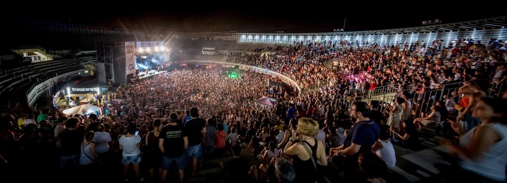 Festival Cultura Inquieta 2014 en la Plaza de Toros de Getafe