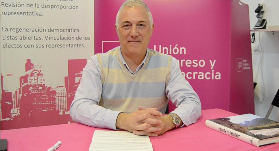 Carlos Alt Bustelo, candidato de UPyD Parla