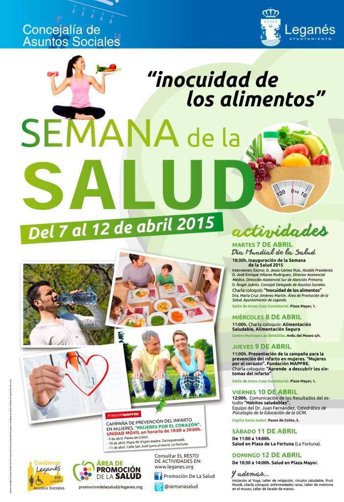Cartel Semana de la Salud 2015