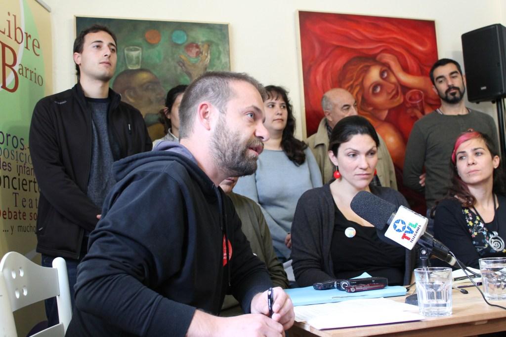 Fran Muñoz, candidato de Leganemos