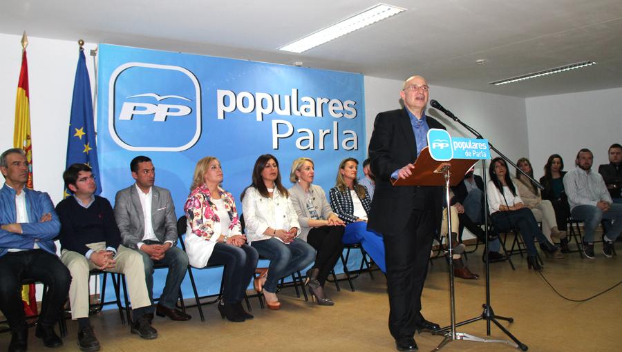 Luis Martínez Hervás, candidato del PP en Parla