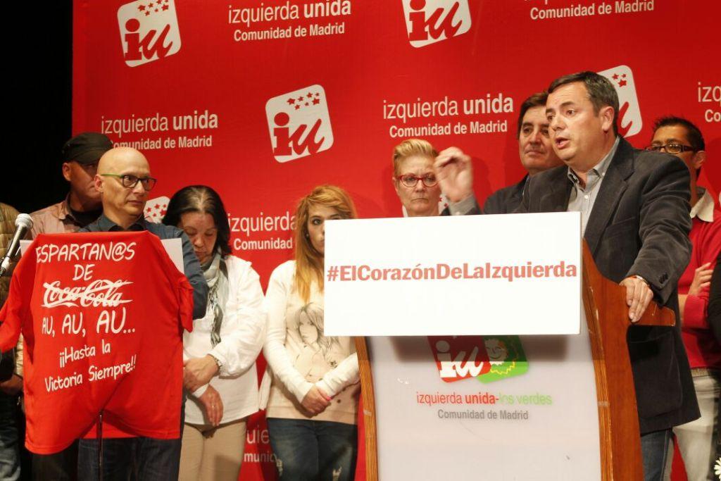 Jesús Saiz, candidato de IU Parla, presentó a su equipo