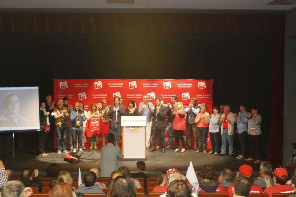 El Teatro Isaac Albéniz se quedó pequeño durante la presentación de la candidatura de IU Parla