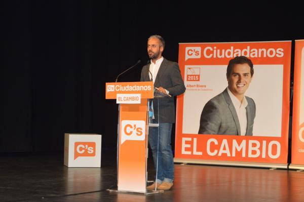 Alfonso Reina, candidato de Ciudadanos Alcorcón
