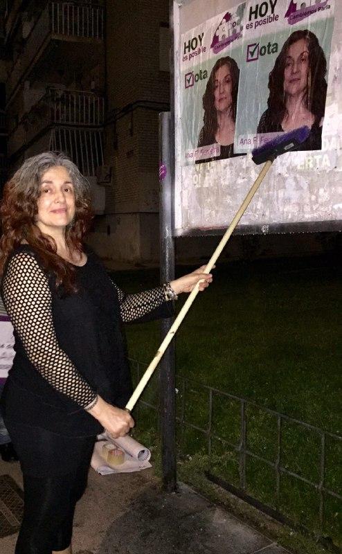 Ana Teresa F. Ferreira, candidata de Cambiemos Parla