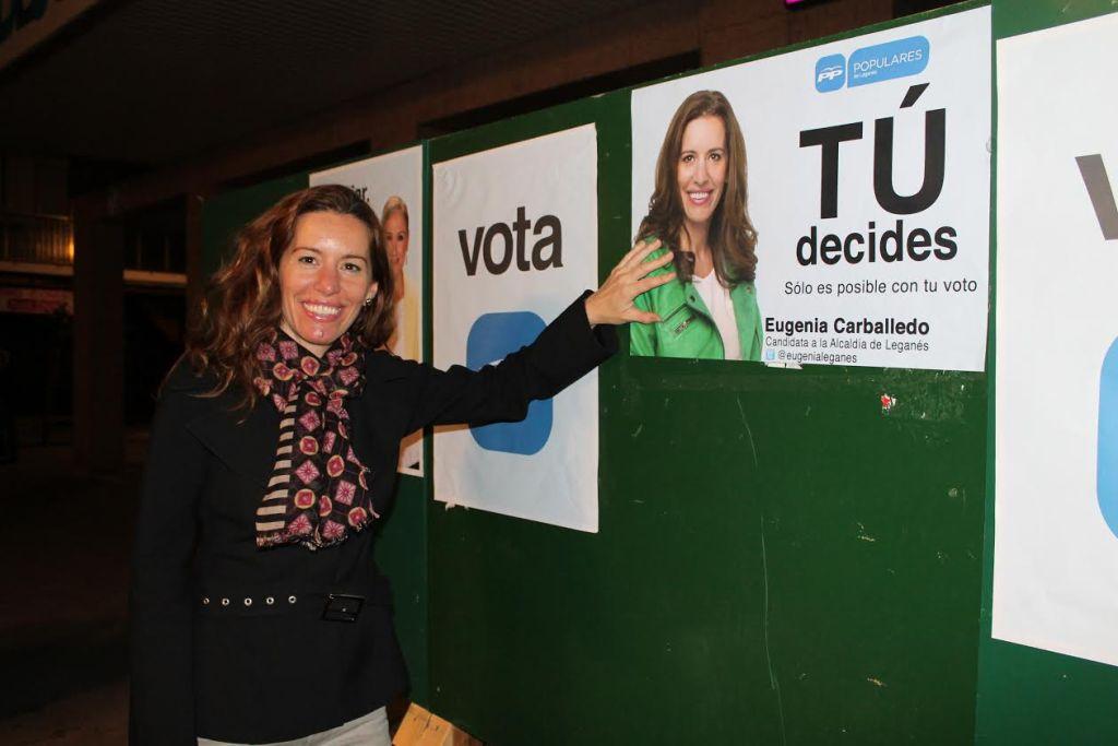 Eugenia Carballedo, candidata del PP