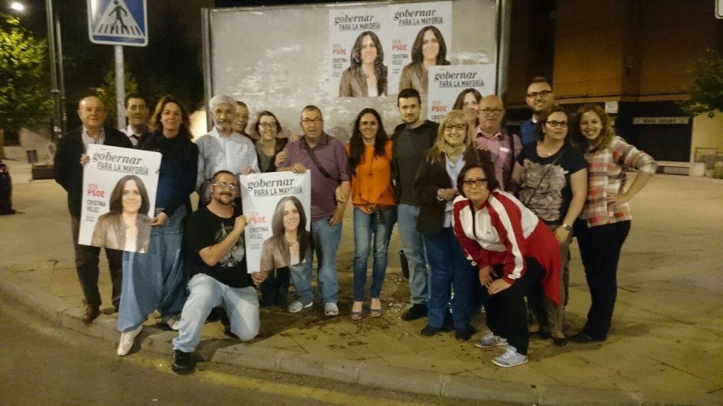 Cristina Vélez, candidata del PSOE