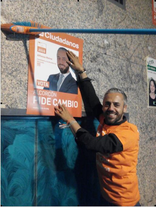 Alfonso Reina, candidato de Ciudadanos (C'S)
