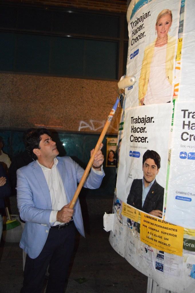 David Pérez, candidato del PP