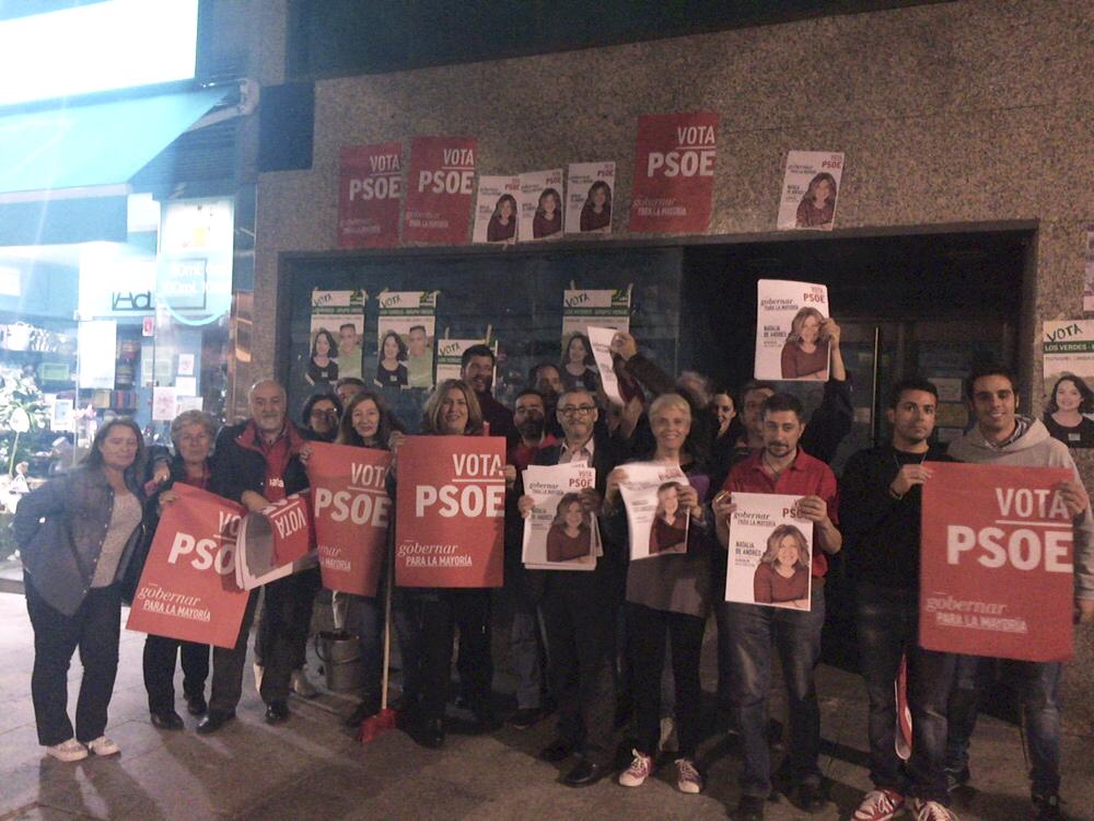 Natalia de Andrés, candidata del PSOE