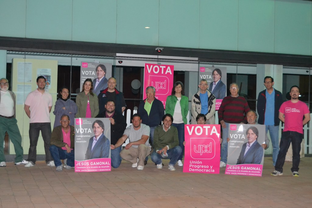 Jesús Gamonal, candidato de UPyD