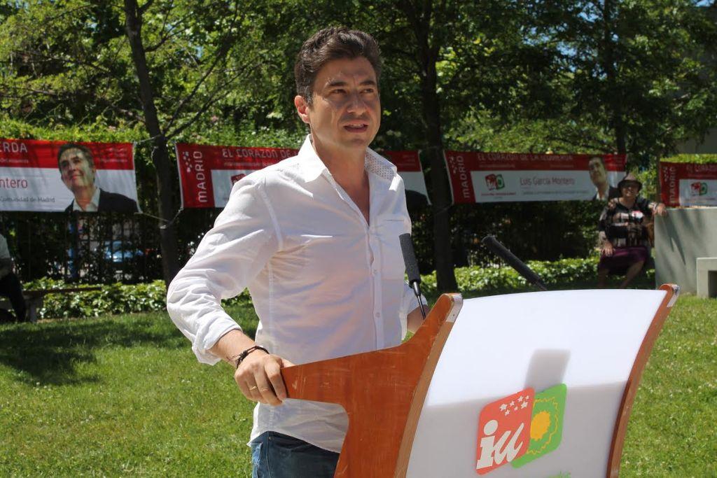 Rubén Bejarano, portavoz IU  Leganés