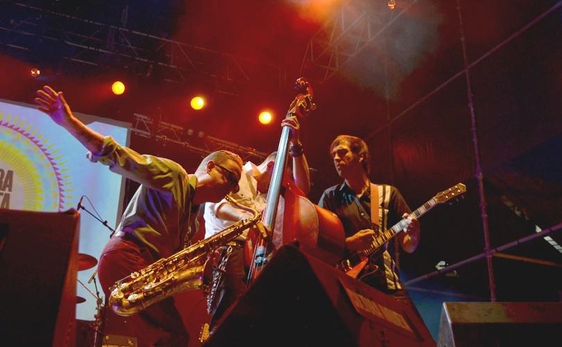 Gran espectáculo de 'Los Mambo Jambo' en el Cultura Inquieta en 2015. Foto _ Sonia Baños