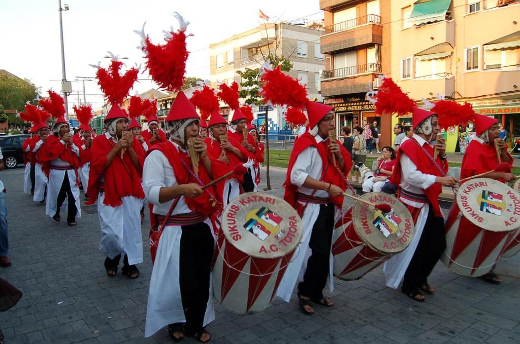 Peruanos residentes en Parla celebran el aniversario de la independencia de su país