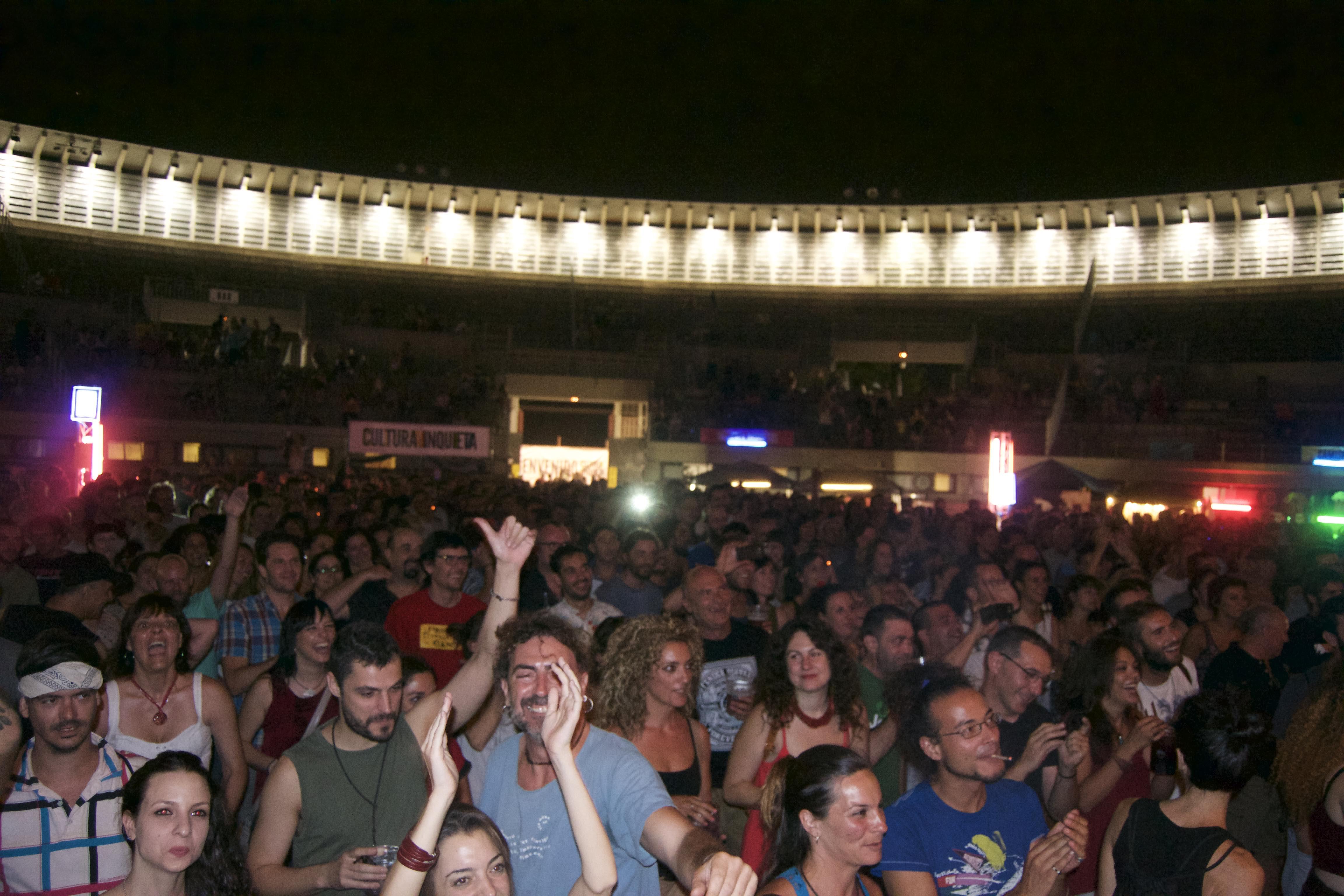 Plaza de Toros en el Festival Cultura Inquieta