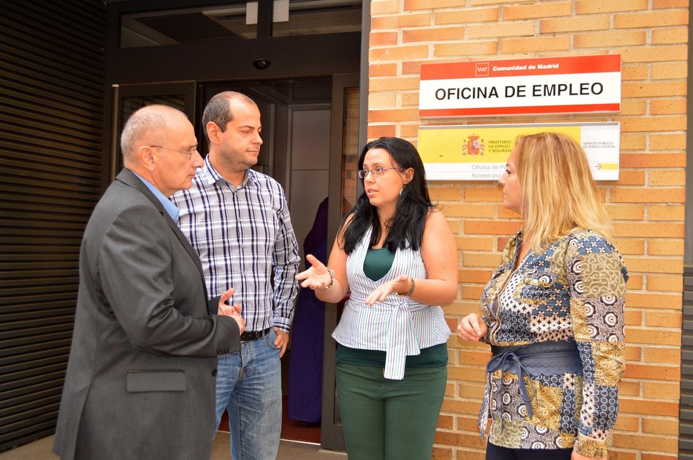 Parla nuevas colaboraciones en la agencia municipal de for Oficina de empleo getafe