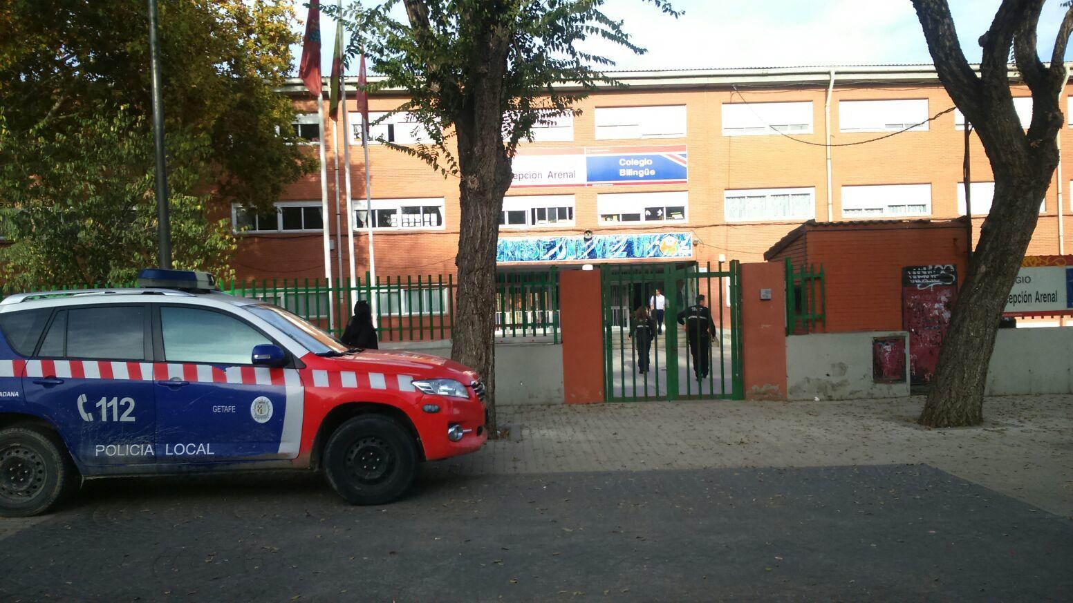 La policia en el C.P Concepción Arenal