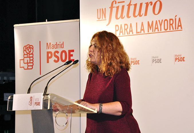 Portavoz del PSOE en Alcorcón, Natalia de Andrés