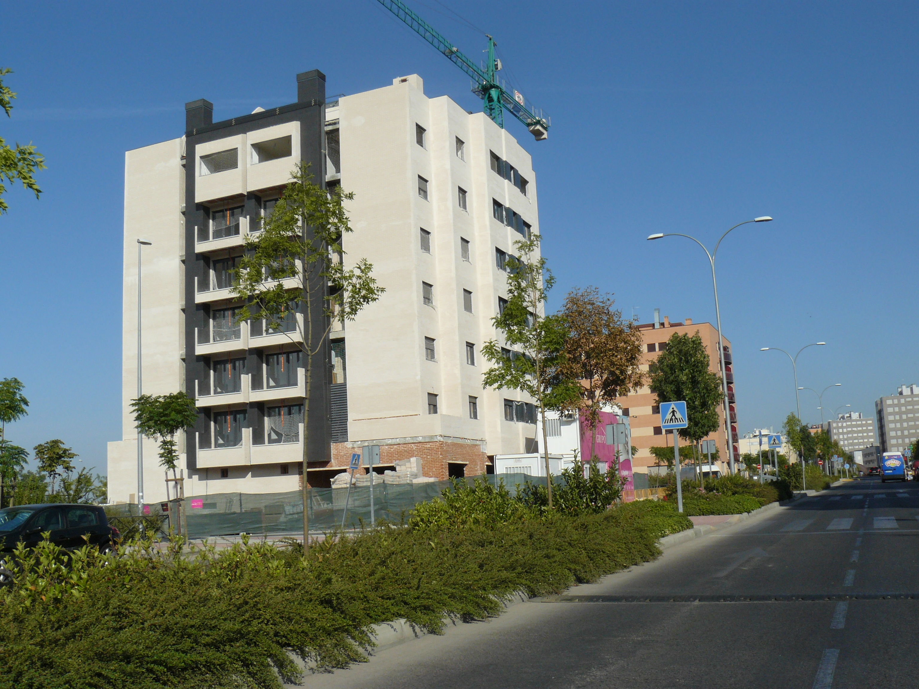 Fuenlabrada la comunidad autoriza la construcci n del for Vivero fuenlabrada