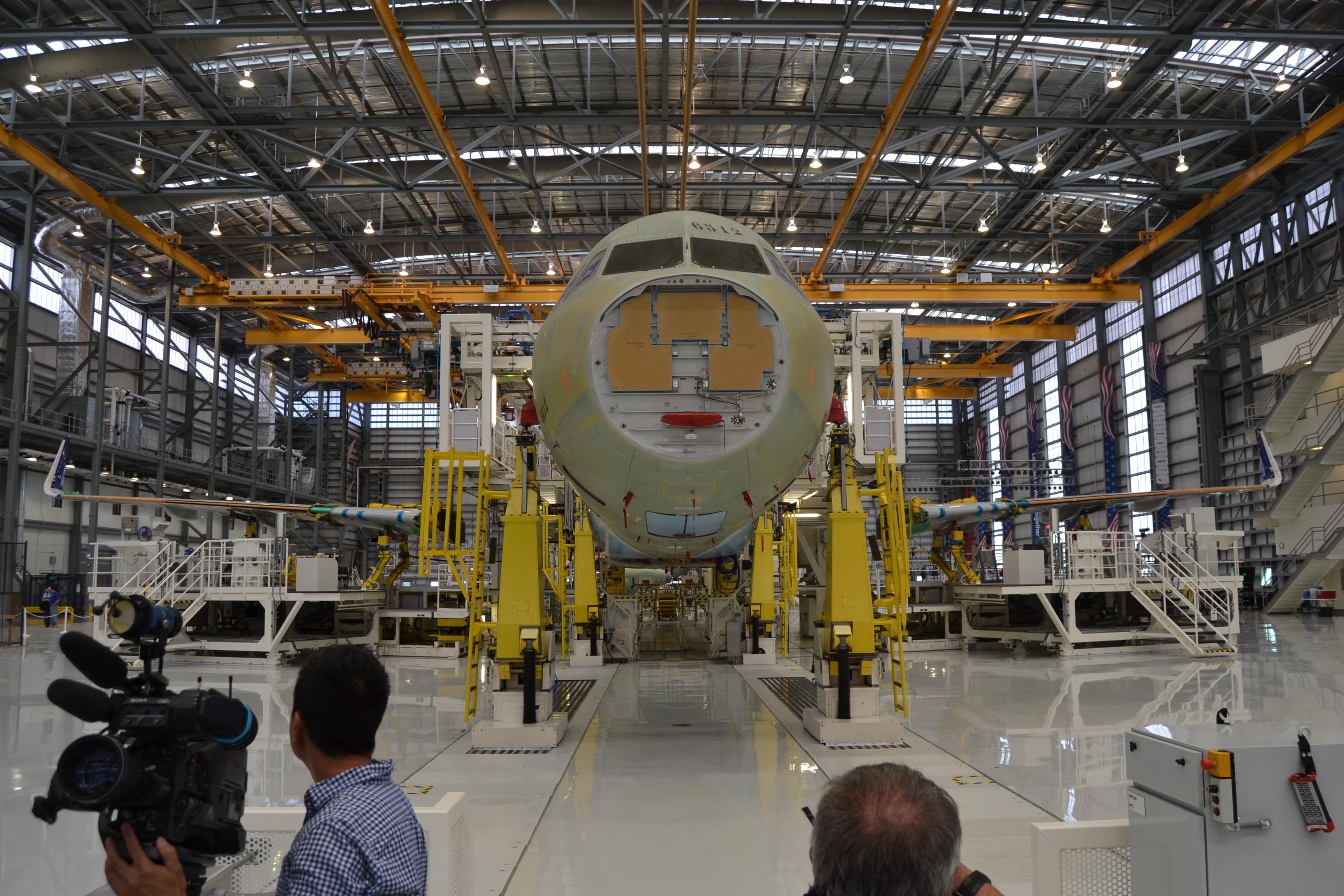 Instructor de mantenimiento aeronáutico en Airbus Sevilla